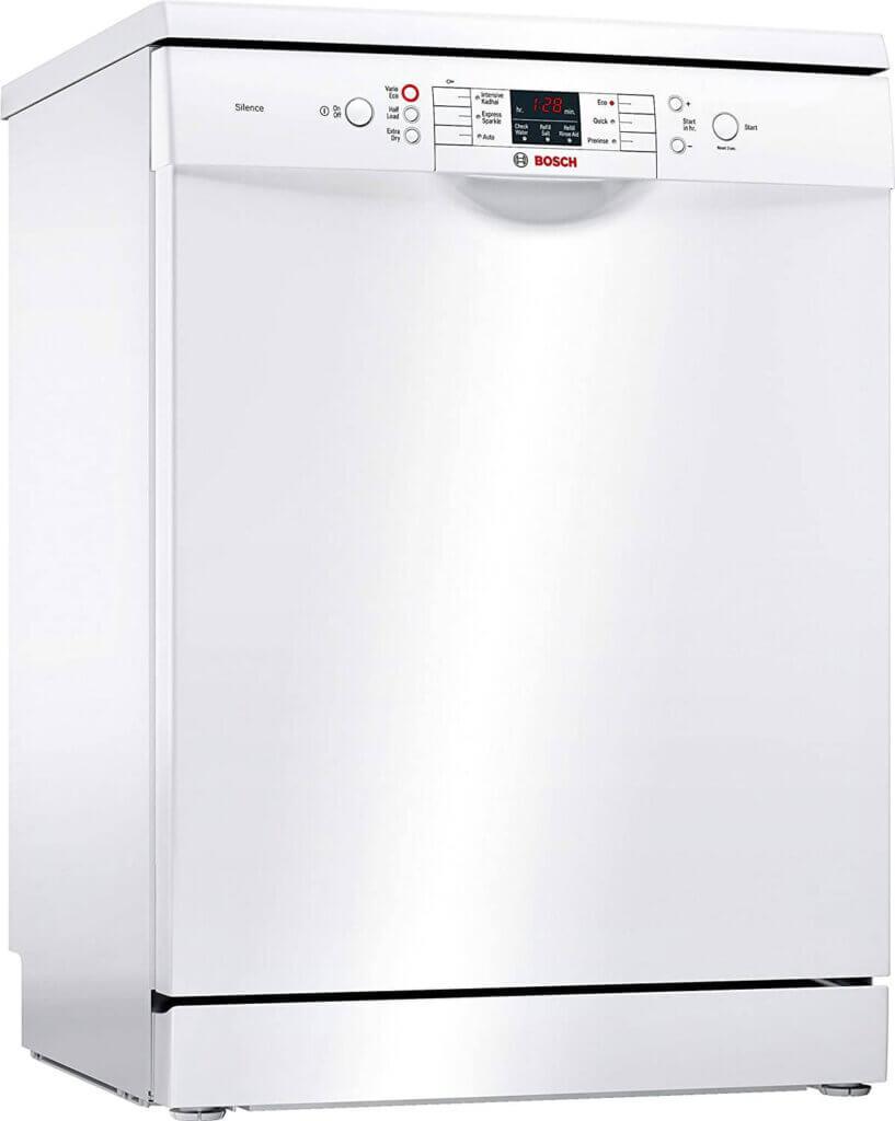 #02 Best Dishwasher in India - Bosch 12 Place Settings Dishwasher (SMS66GW01I, White)