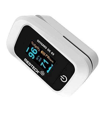Best Pulse Oximeter - MEDTECH Fingertip Pulse Oximeter OG03