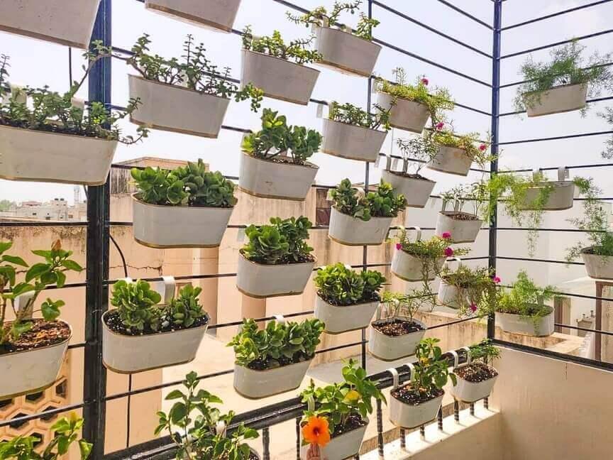 Gardening Tools - Railing Planters