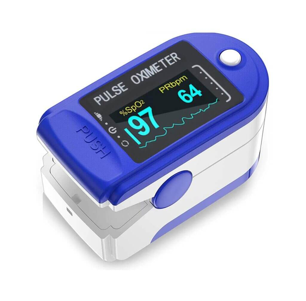 Best Pulse Oximeter - VRcast Fingertip Pulse Oximeter
