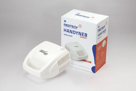 #8 Best Nebulizers in India - Handyneb Nulife Pistontype Compressor Nebulizer